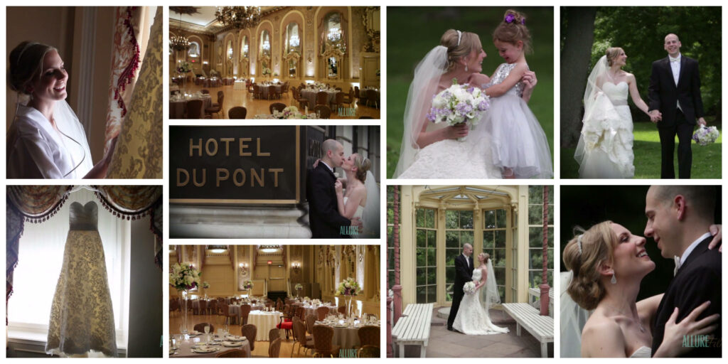 Hotel Dupont Wedding Videography