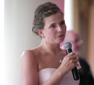 Capturing audio on wedding video