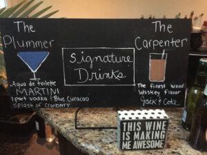 Signature Drink at Weddings