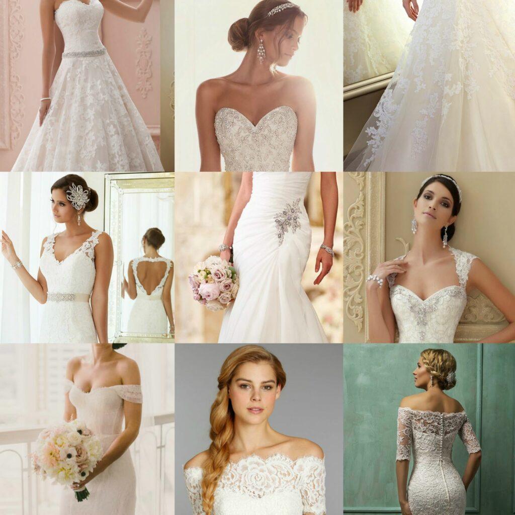 2015 Spring Wedding Trends - Dresses