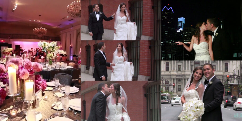 Hyatt At The Bellevue XIX Wedding Videography