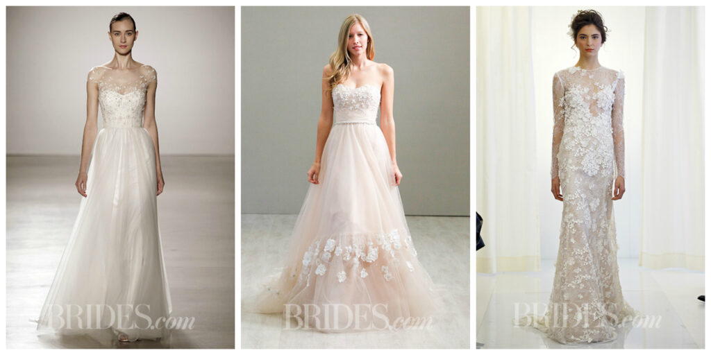Spring 2016 Wedding Trends - Gowns