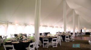 Ellis Preserve Wedding Tent