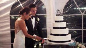 Wedding Cake Cutting Ellis Preserve