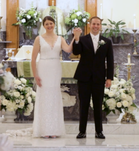 Couple on Wedding Day by Philadelphia Wedding Videographers