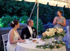 Outdoor Wedding Radnor Valley Country Club