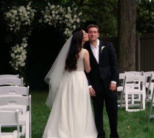Merion Outdoor Wedding Ceremony Aisle