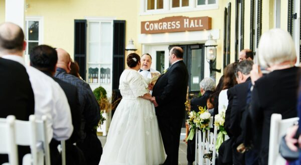 Congress Hall Wedding in Cape May